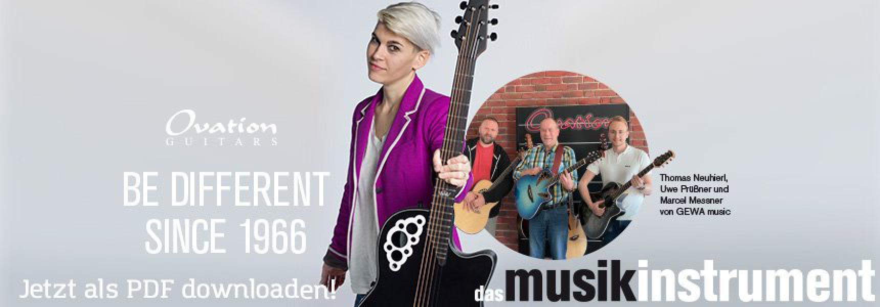Aktuelle Ausgabe das musikinstrument 06-07/21