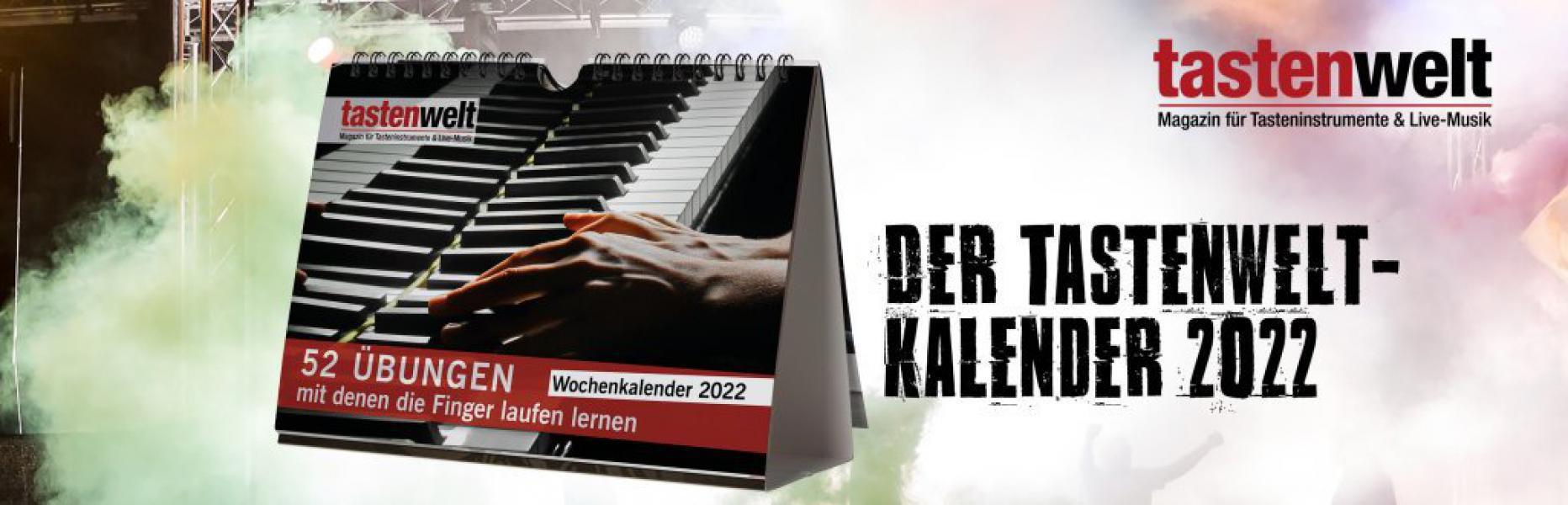 tastenwelt Wochenkalender 2022